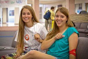 Utah State University Blood Drive 2012